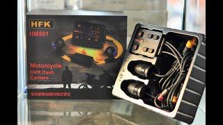 รีวิว HFK HM501 กล้องติดรถมอเตอร์ไซค์ ราคา 7,500 บาท