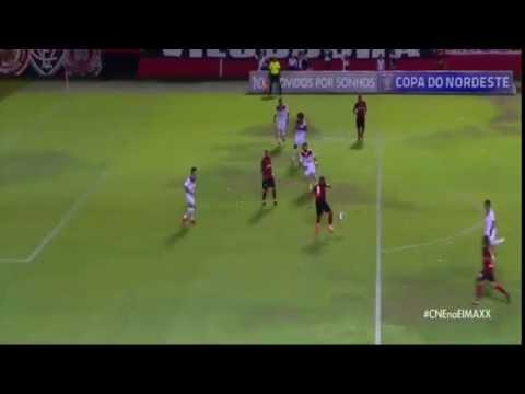 Gol de Vitória 3 x 1 Sergipe - Copa do Nordeste   26 01 2017