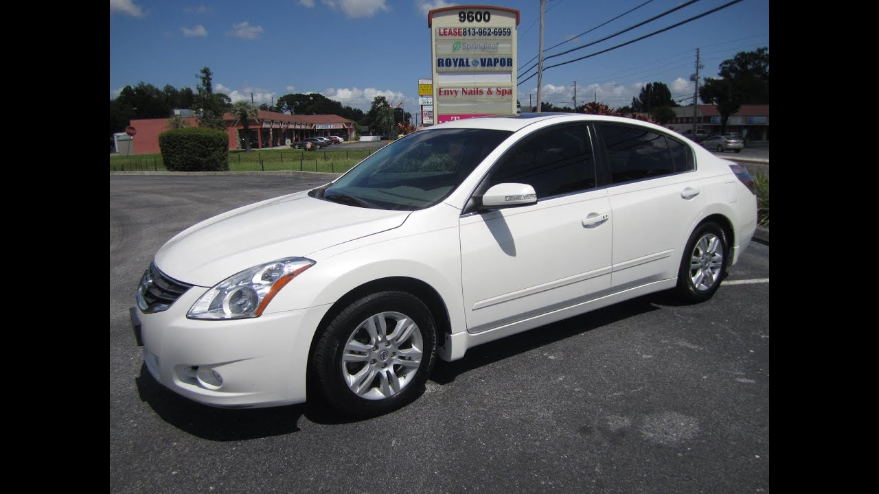 sold 2010 nissan altima 2 5 sl one owner 86k miles meticulous motors inc florida for sale youtube. Black Bedroom Furniture Sets. Home Design Ideas