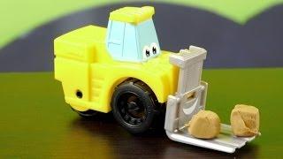 машинка из мультфильма Чак и его друзья - играем в Play Doh