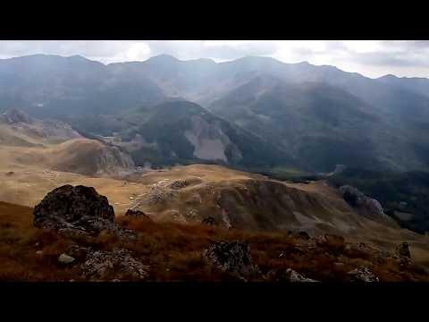 На врвот на Јабланица. On the Jablanitsa peak (2257 m)