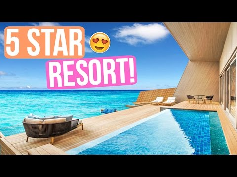 5 STAR RESORT EXPERIENCE AT ST. REGIS MALDIVES!