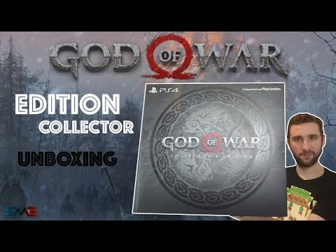 GOD OF WAR | COLLECTOR'S EDITION UNBOXING !