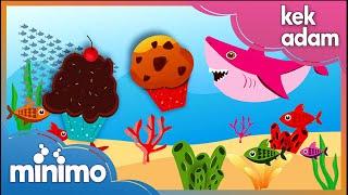 Kek Adam - The Muffin Man - Çocuk Şarkısı -Çocuk Şarkıları- Animasyonlu Çocuk Şarkıları - Minimo