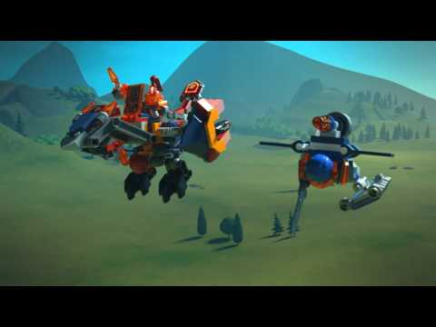 LEGO® NEXO KNIGHTS™ - 70356 + 70357 Final stand against Jestro