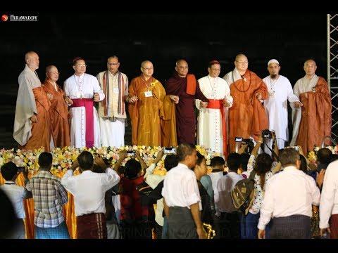 Inter-Religious Prayer Service at Yangon Myanmar