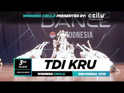 TDI Kru  3rd Place Team  Winners Circle  World of Dance Indonesia Qualifier 2019  WODIDN19
