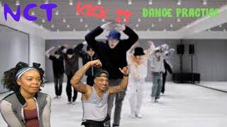 NCT 127 (엔시티 127) - 영웅 (英雄; Kick It) Dance Practice - KITO ABASHI REACTION