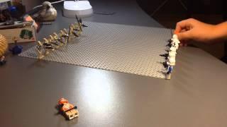 Лего Звездные войны война клонов.