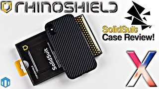 iPhone X Rhinoshield SolidSuit Case Review! New Daily Case!