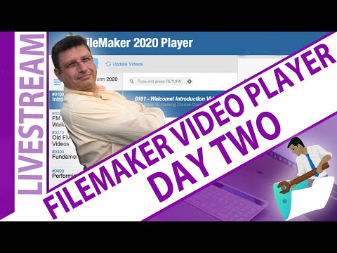 FileMaker Video Player Take Apart - Day 2 - Nick Hunter and Myles Debski
