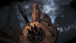 Skyrim Viking mod: Викинг, броня, меч, гриб.