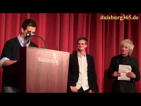Preisverleihungen der 37. Duisburger Filmwoche im Filmforum Duisburg