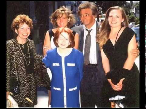 Peter Falk & Alyce Falk with Daughters, Jackie & Catherine Falk