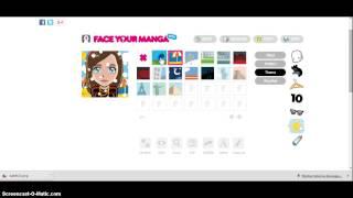 avatar maker - face your manga tutorial