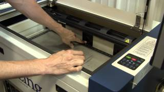 Laser Cutter Vector Table Install, Switching from Engraving to Cutting, and Focusing