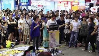 舊日片段自由在我手+ 檳城艷-- Sunny & Fanny -- 3L樂隊香港街頭音樂會N...
