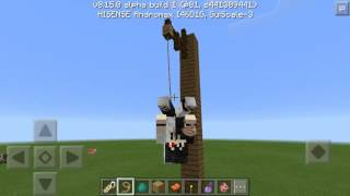 Trik Minecraft PE || Jadi Spiderman