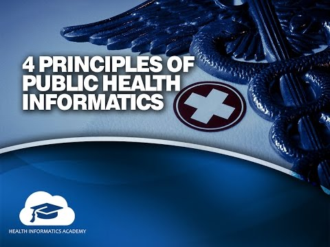 Four Principles of Public Health Informatics