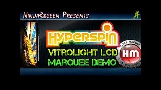 Hyperspin-Hypermarquee demo