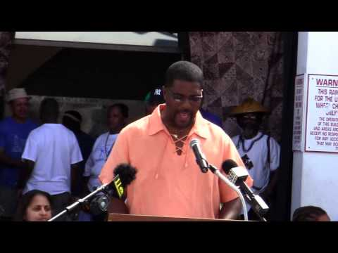 Minister Michael Weeks Labour Day Bermuda September 5 2011