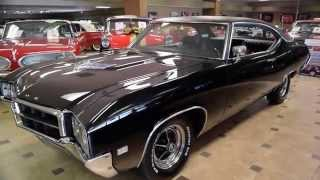 Walk Around & Start 1969 Buick Gran Sport Black #2552