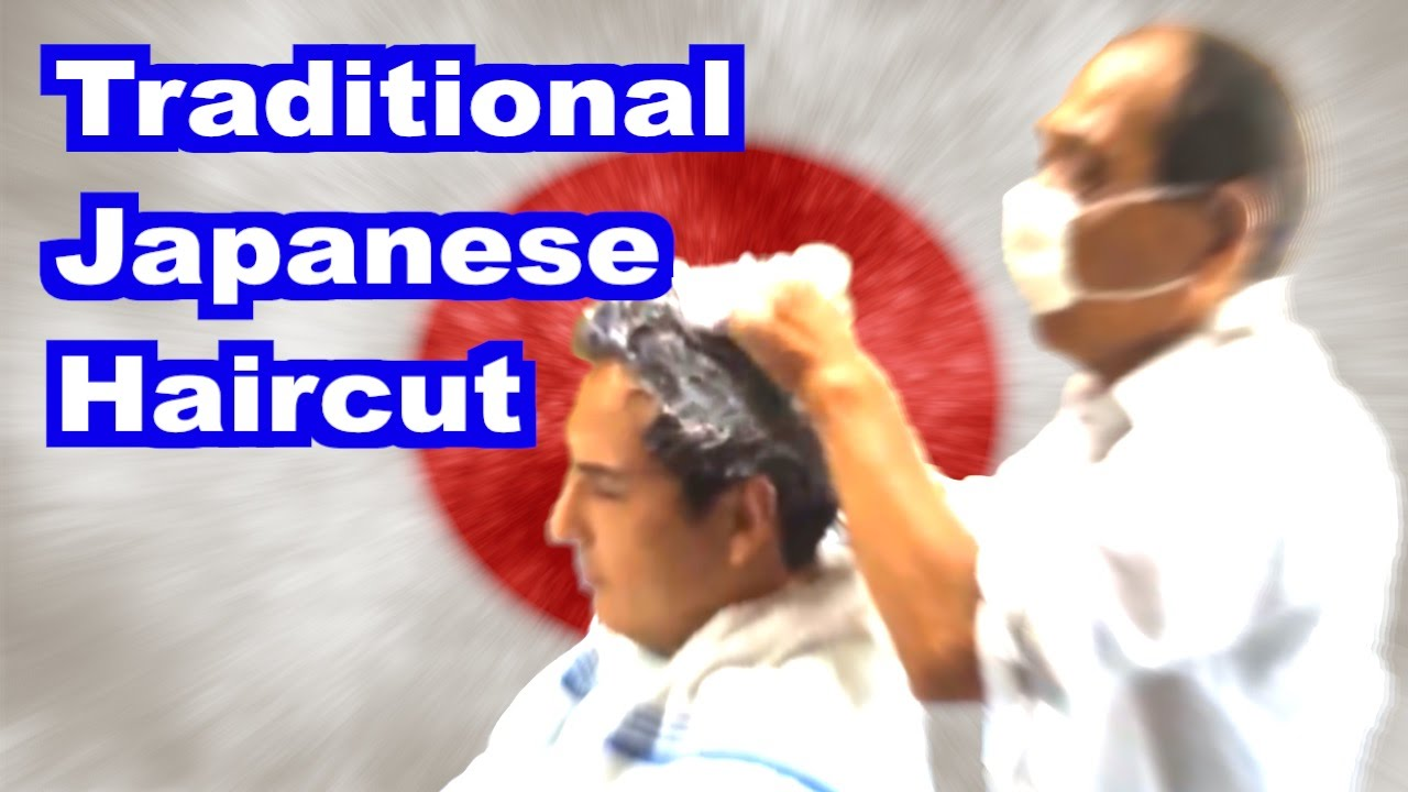 [HD] 床屋 Visit to Traditional Japanese Barber-Part 1 (Unedited)