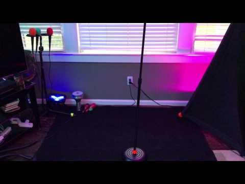 Karaoke Setup in Living Room