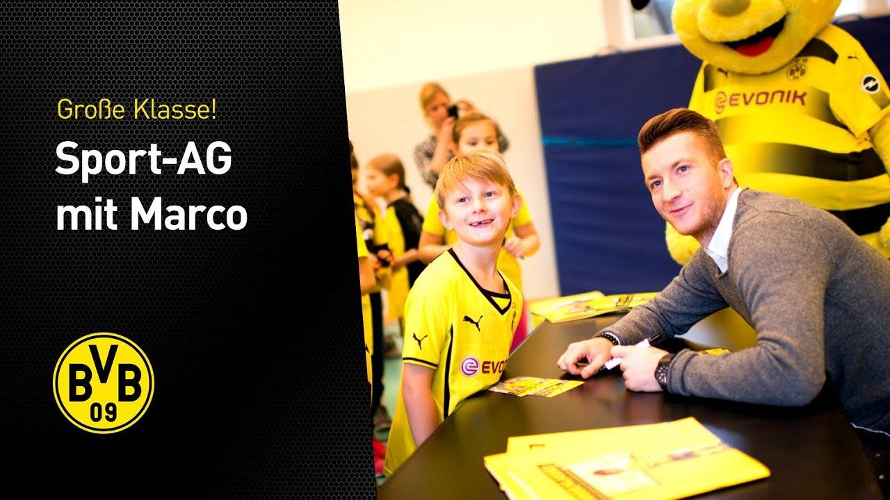 """""""Große Klasse""""! Sport-AG mit Marco Reus"""