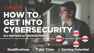 Cybersecurity Careers: How to Get Into Cybersecurity with #CompTIA