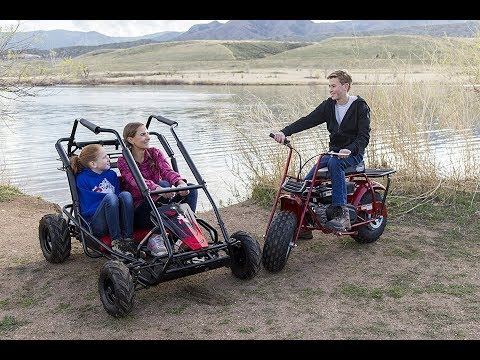 Coleman Powersports KT196 Gas Powered Off Road Go Kart