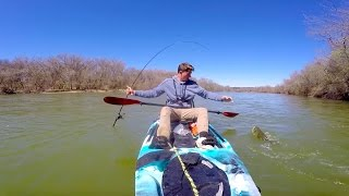 kayak bass fishing my biggest bass again