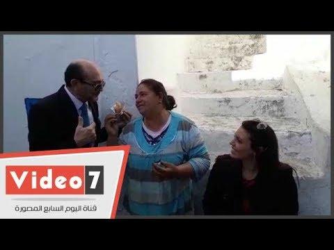 ماذا قالت أم ابراهيم التونسية لمريم ابنة الفنان محمد صبحى بتونس  - 15:22-2017 / 12 / 14