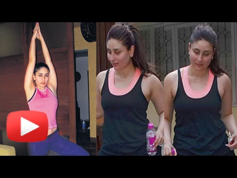 Kareena Kapoor Fitness Routine | Post Pregnancy Workout | Yoga For Weight Loss | Taimur Ali Khan