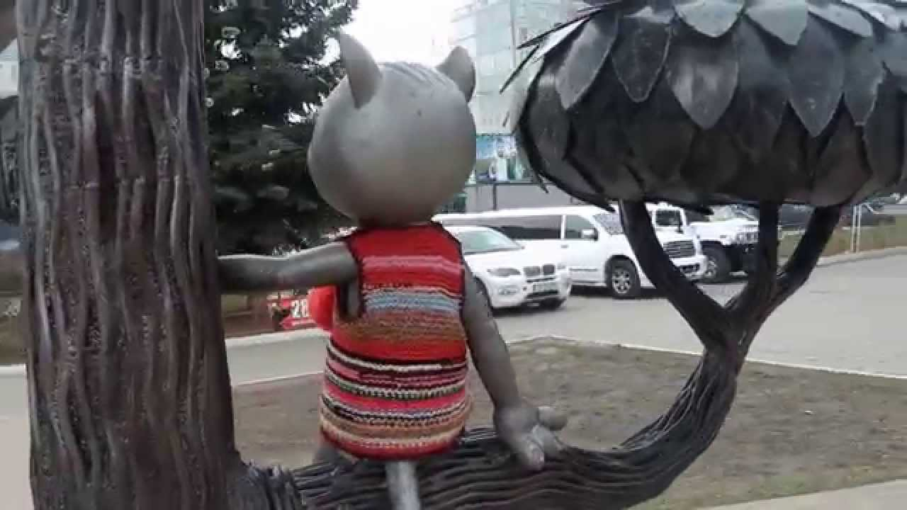 . Воронеж. Памятник Котенку с улицы Лизюкова ...