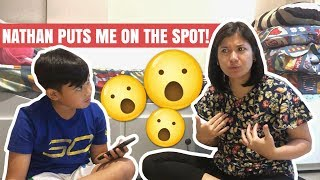 Nathan Puts Me on the Spot!! | Camille Prats