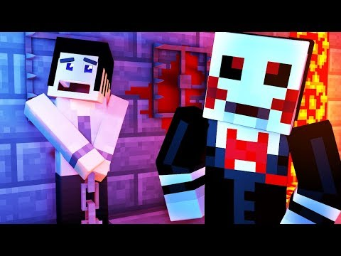 Minecraft Saw - ESCAPING JIGSAW!!   Minecraft Scary Roleplay