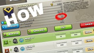 HOW TO CHANGE CLASH OF CLANS CLAN JOINNING REQUIRED TROPHY TO ANY NUMBER (HINDI)