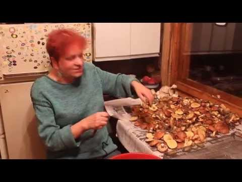 Как чистить маслята свежие
