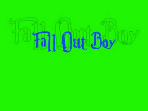 Sugar We're Going Down (acoustic) -Fall Out Boy