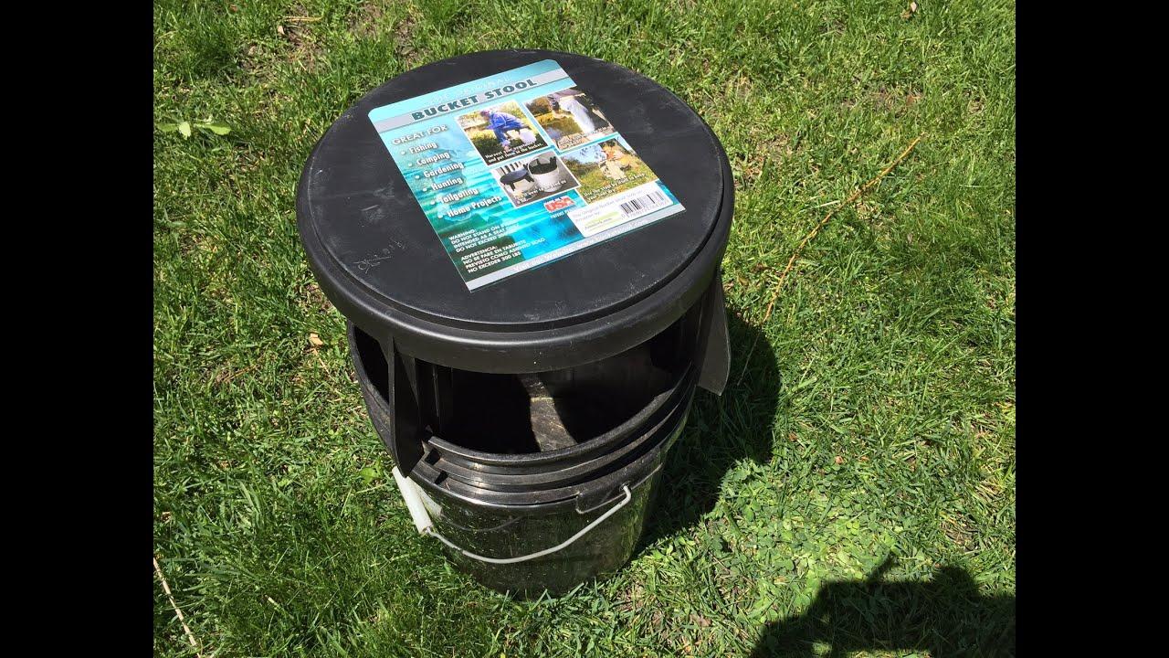 The Original Bucket Stool For Fishing Camping Gardening