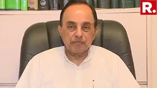 BJP MP Dr Subramanian Swamy Speaks To Republic TV Following P Chidambaram's Bail Being Denied