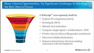 CANscript: A Truly Human Translational Platform for Oncology and IO Drug Discovery and Development