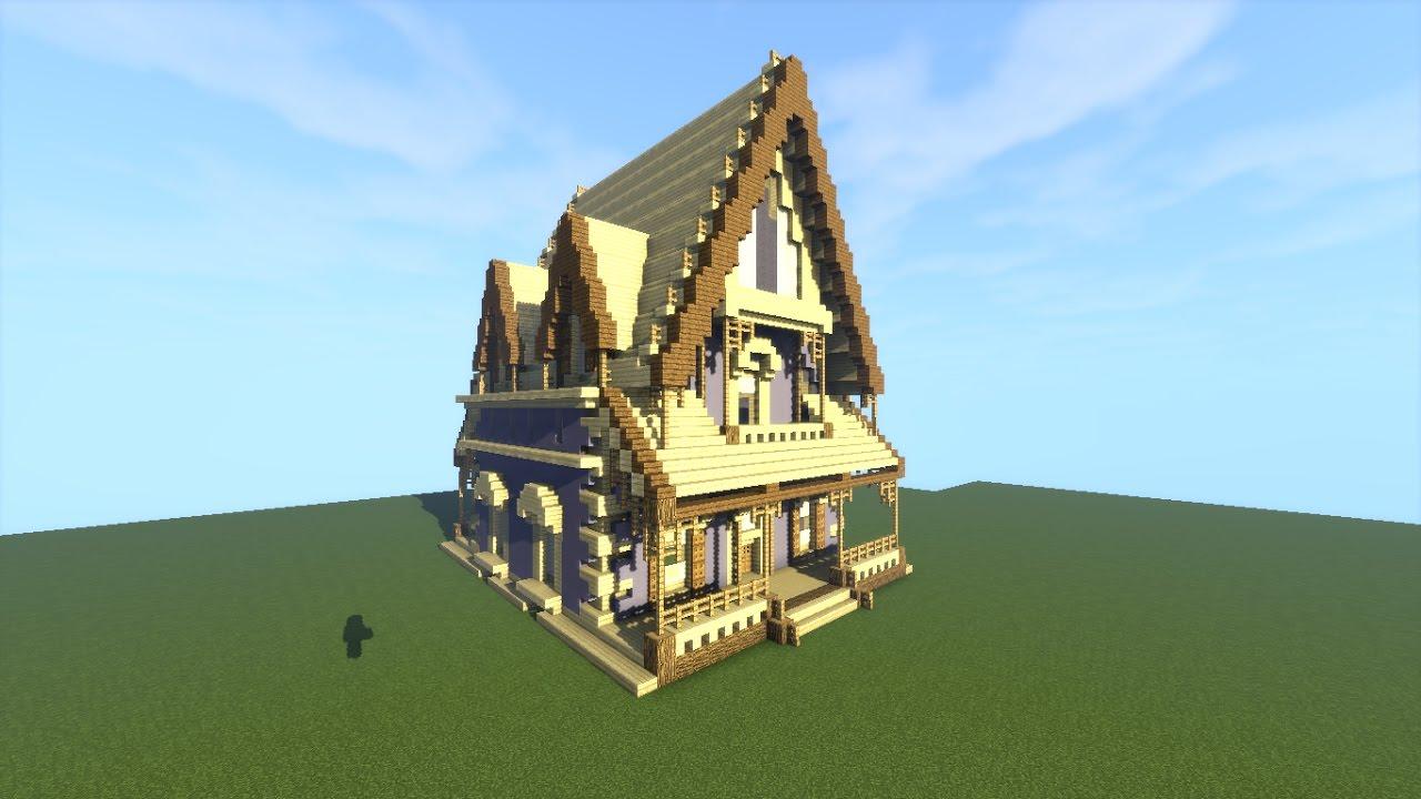 Minecraft como construir uma casa chal youtube - Como construir tu casa ...