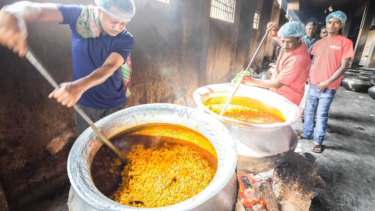 EXTREME CURRY FACTORY in Bangladesh + INSANE Street Food Tour of Chittagong, Bangladesh!!!