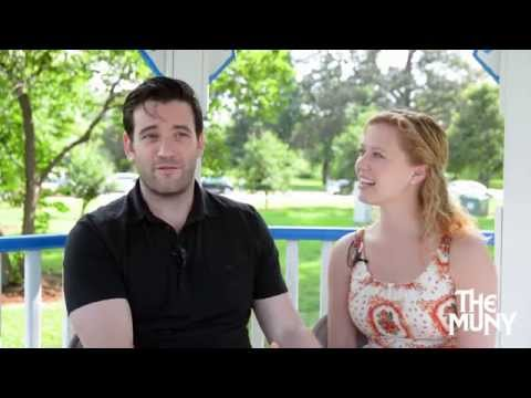 Meet Colin Donnell and Patti Murin at The Muny!