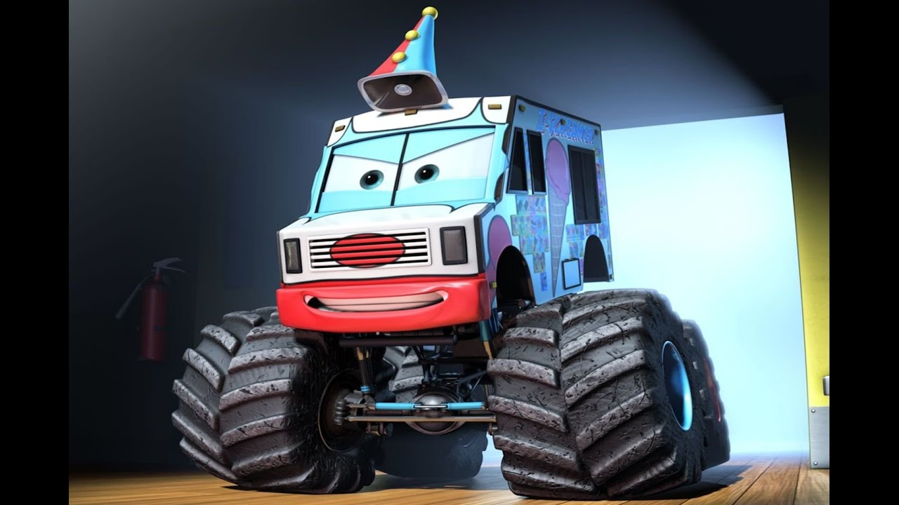 Cars Toons Mater S Tall Tales Monster Truck Mater Part Ice