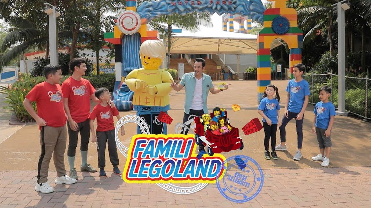 Famili LEGOLAND Edisi Selebriti | Episode 3 | 30 Nov 19 ...