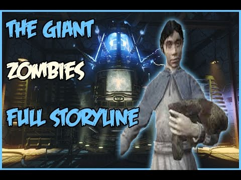 """Black Ops 3- """"THE GIANT"""" Zombies FULL STORY LINE Character Conversations"""