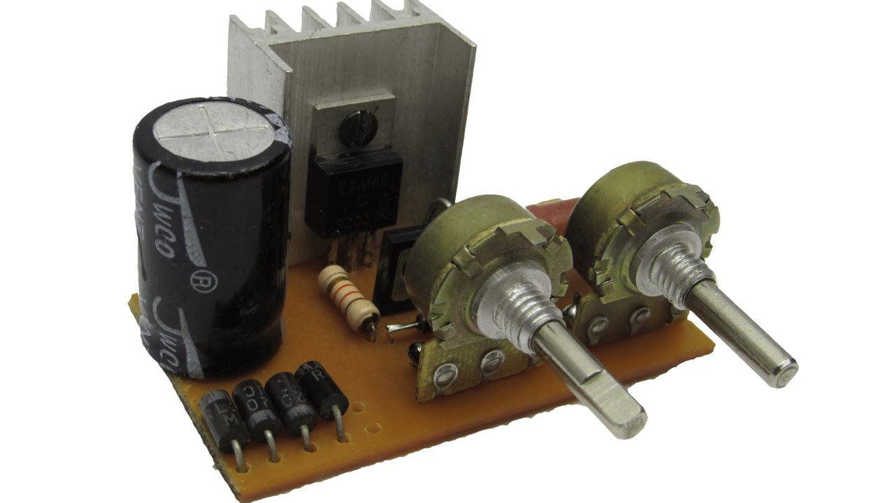 Power Supply With Adjustable Voltage And Current Youtube Volt 2 Amp Psu Single Ic Regulator